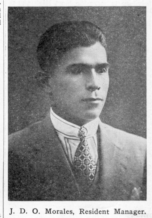 Retrato de Jesús David Osorio Morales